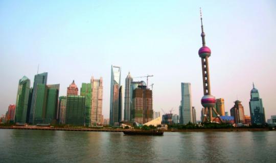 Pulsierendes Shanghai
