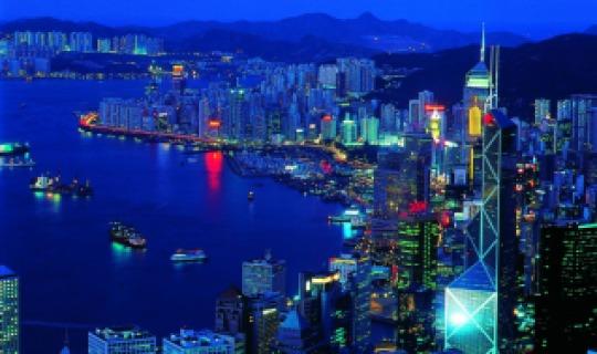 Erleben Sie Hongkong bei Nacht