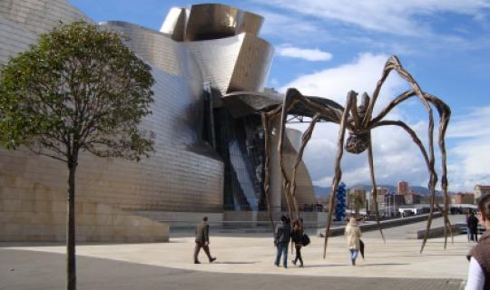 Das Guggenheim Museum in Bilbao