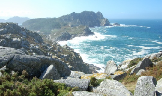 Das tosende Meer der Islas Cies