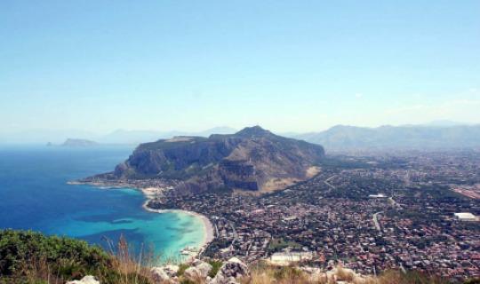 Die Küste Palermos