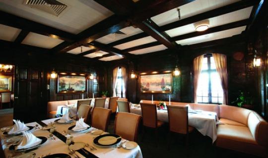 Das gemütliche Restaurant