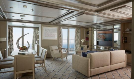 Luxuriöse Zimmer zum entspannen