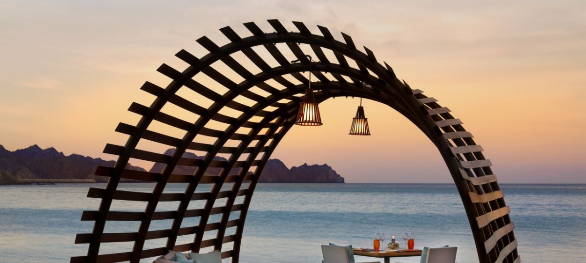 Beach Pavillon für romantische Stunden