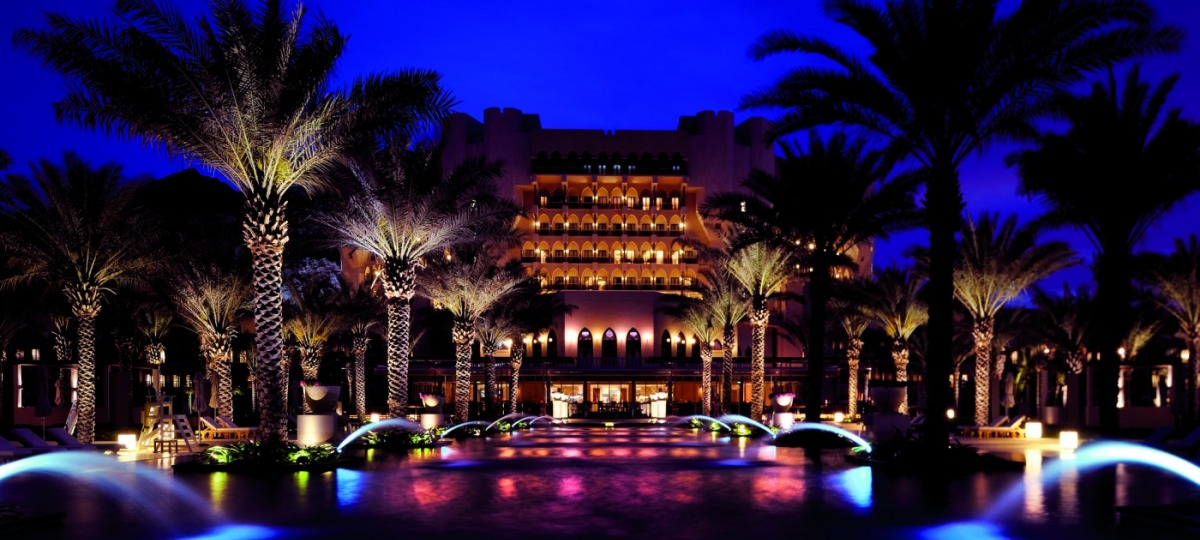 Willkommen im Al Bustan Palace