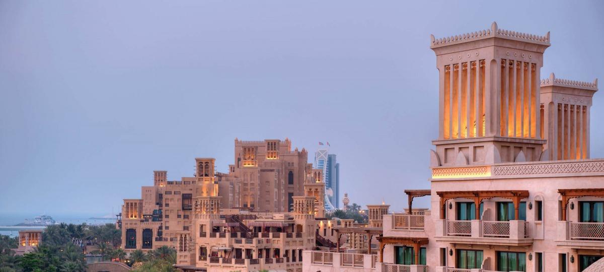 Herzlich Willkommen im Madinat Jumeirah Al Qasr