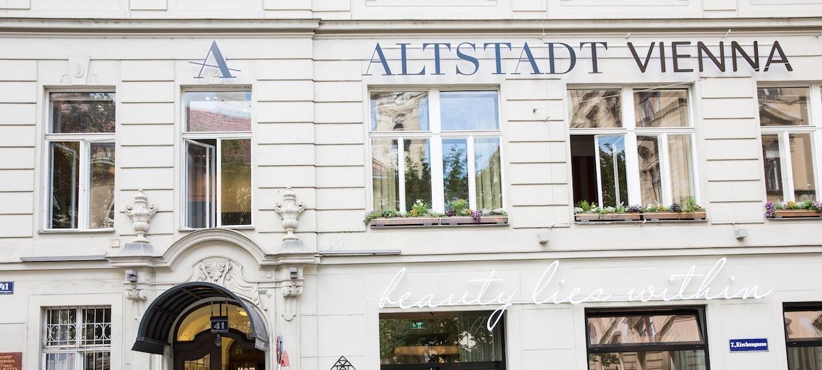 Das Altstadt Vienna heißt Sie herzlich willkommen