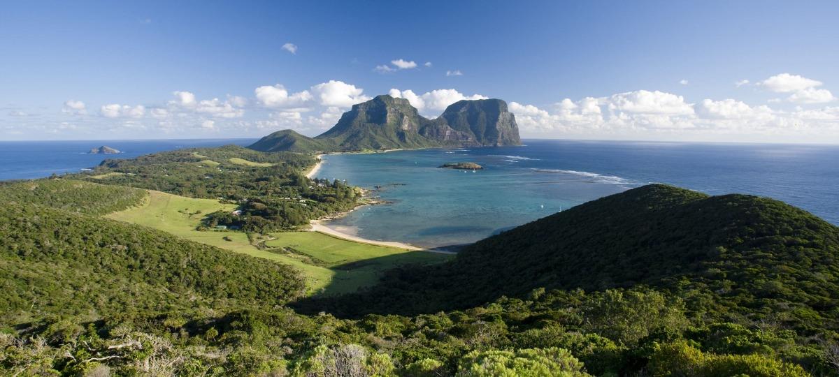 Herzlich Willkommen auf Lord Howe Island