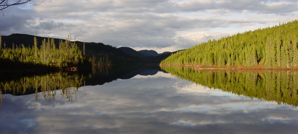 Traumhafter Ausblick über Lac Moreau