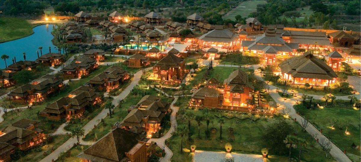 Herzlich Willkommen im Aureum Palace Bagan