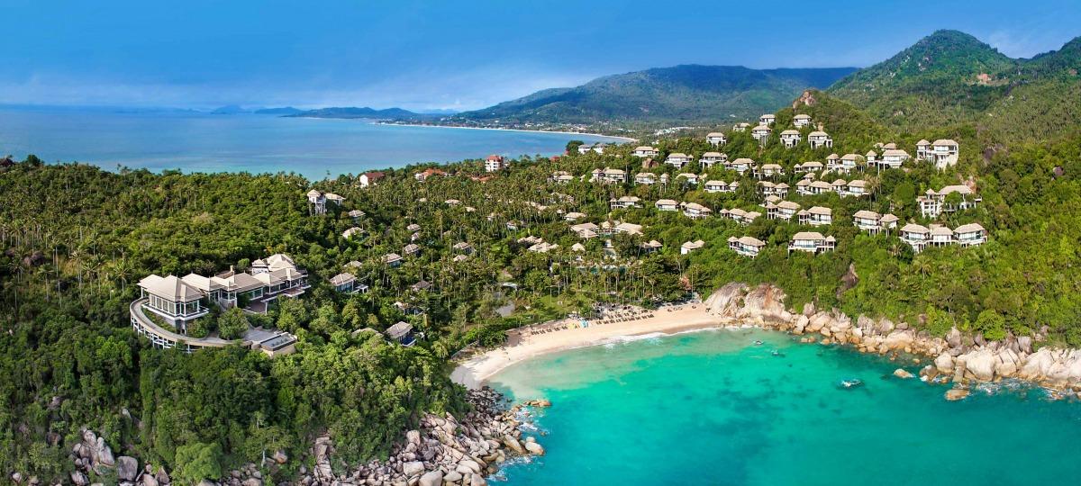 Das wunderschöne Villen-Resort