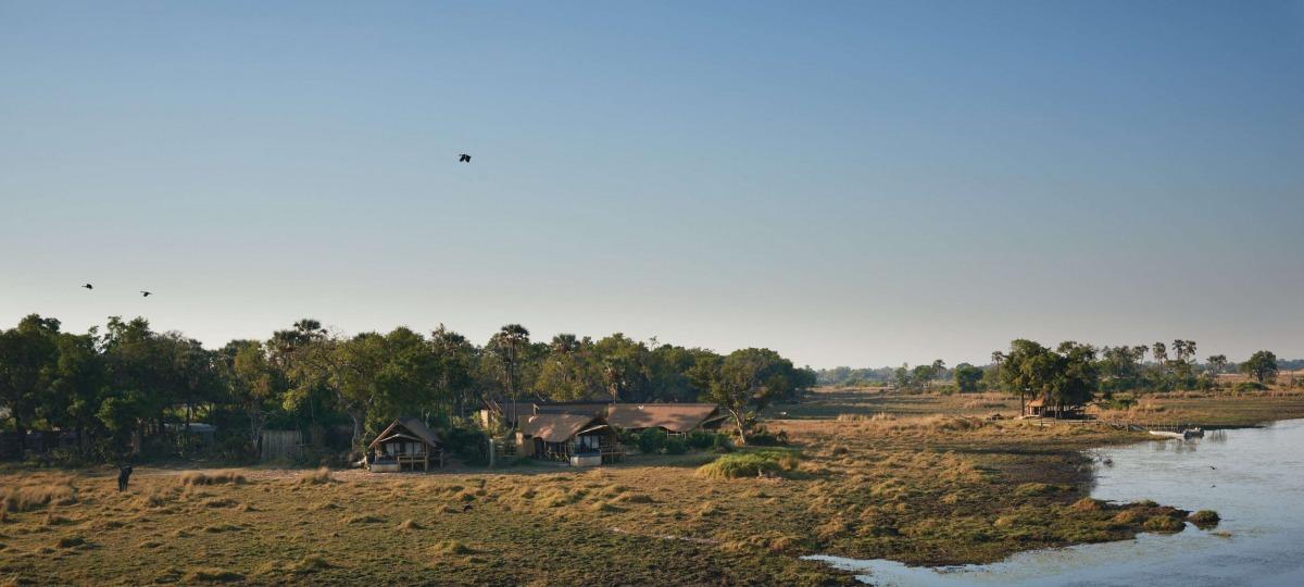 Belmond Eagle Island Lodge - eine der ursprünglichen Safari-Lodges Botswanas