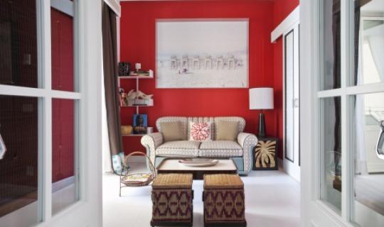 Modernes Ambiente In Der Studio Suite. Capri Tiberio Palace