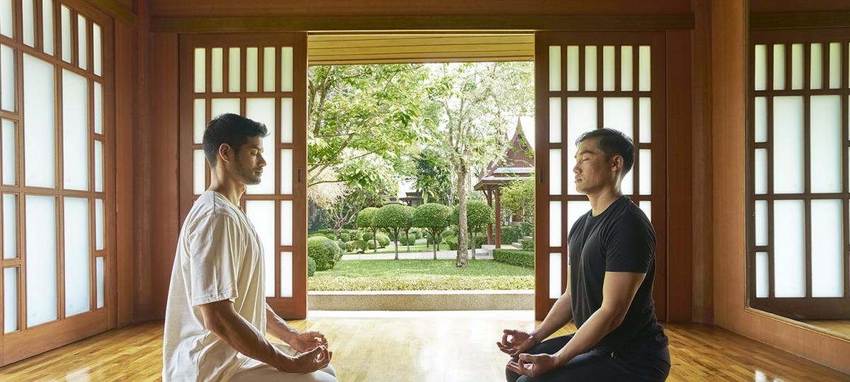 Meditation im Chiva Som