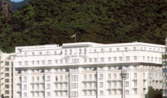 Herzlich Willkommen im Copacabana Palace