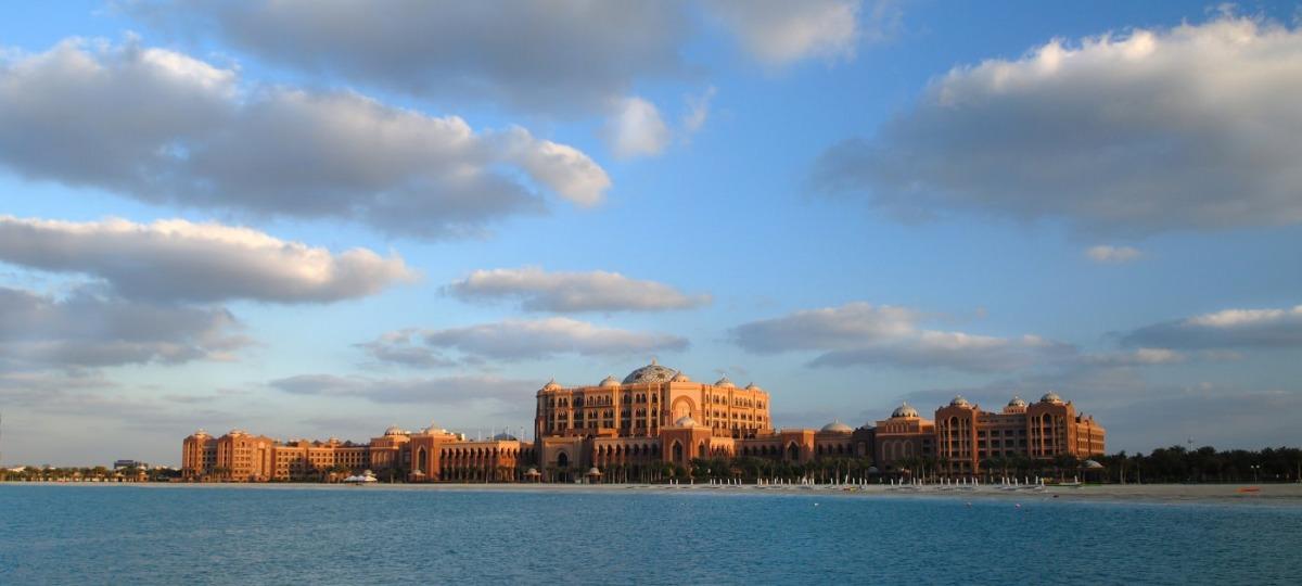 Herzlich Willkommen im Emirates Palace