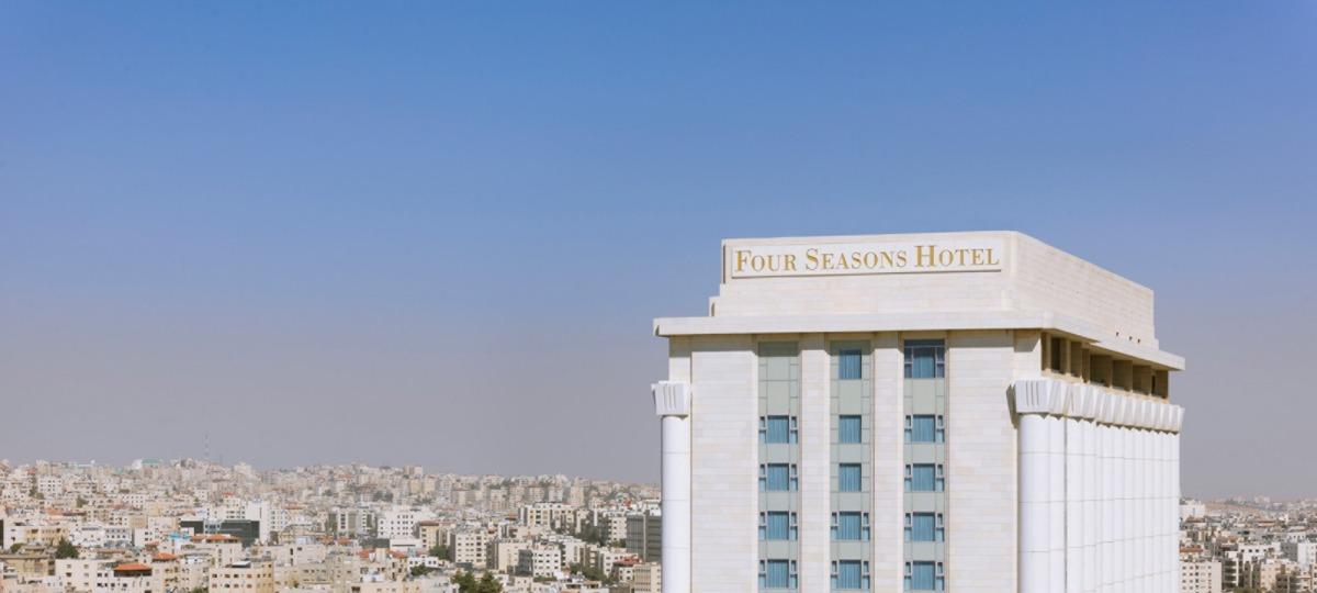 Willkommen im Four Seasons Amman