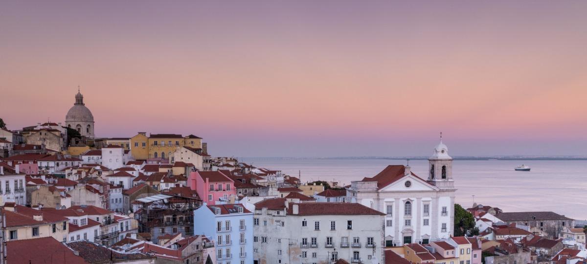 Herrlicher Ausblick auf Lissabon