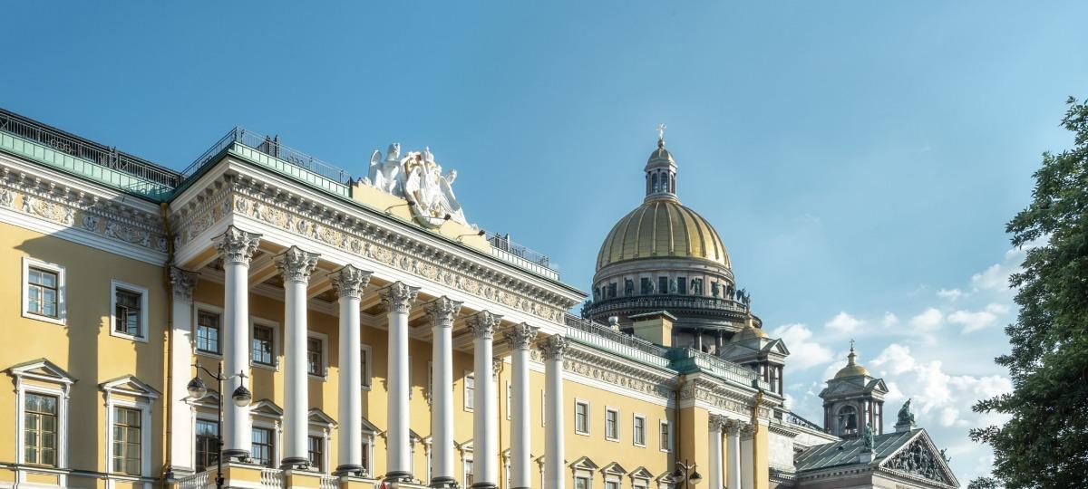 Herzlich Willkommen in St. Petersburg