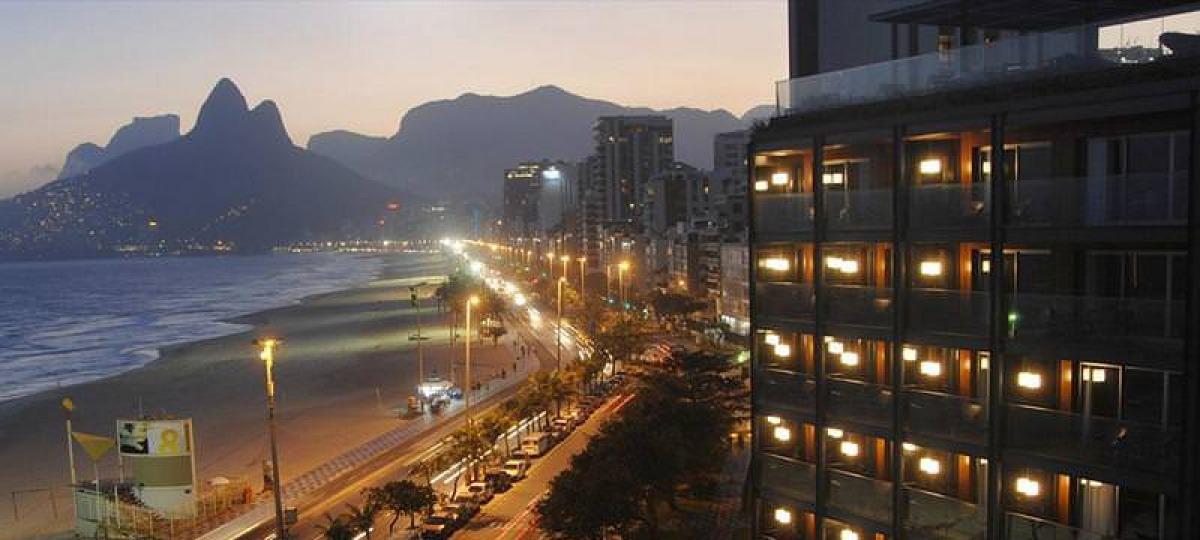 Herzlich Willkommen im Fasano Rio Hotel