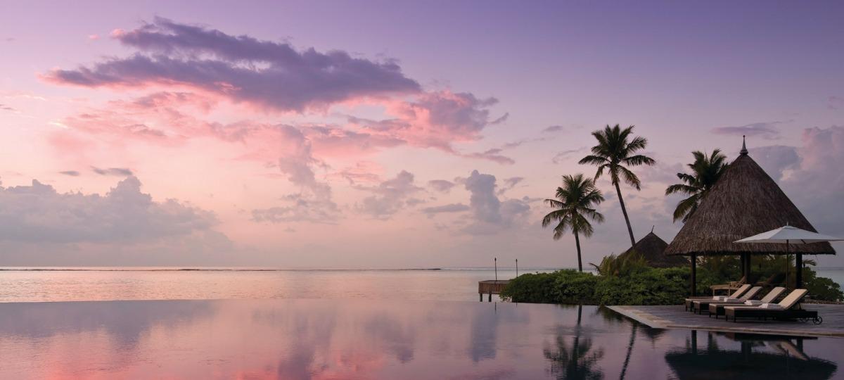 Romantische Abendstimmung - das sind die Malediven!