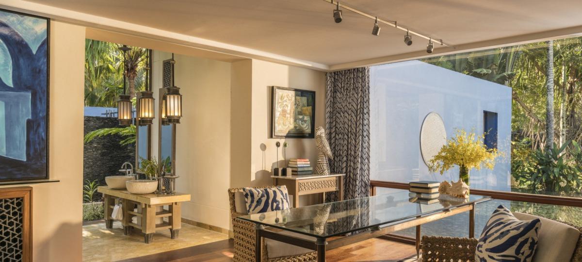 Die Räume erstrahlen in neuem Design
