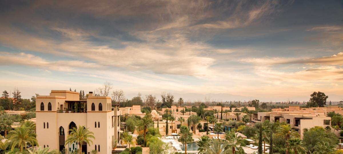 Herzlich Willkommen im Four Seasons Marrakech