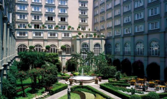 Residieren Sie im wundervollen Four Seasons Mexico City