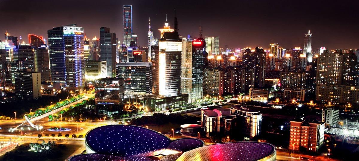 Willkommen in der Metropole Shanghai