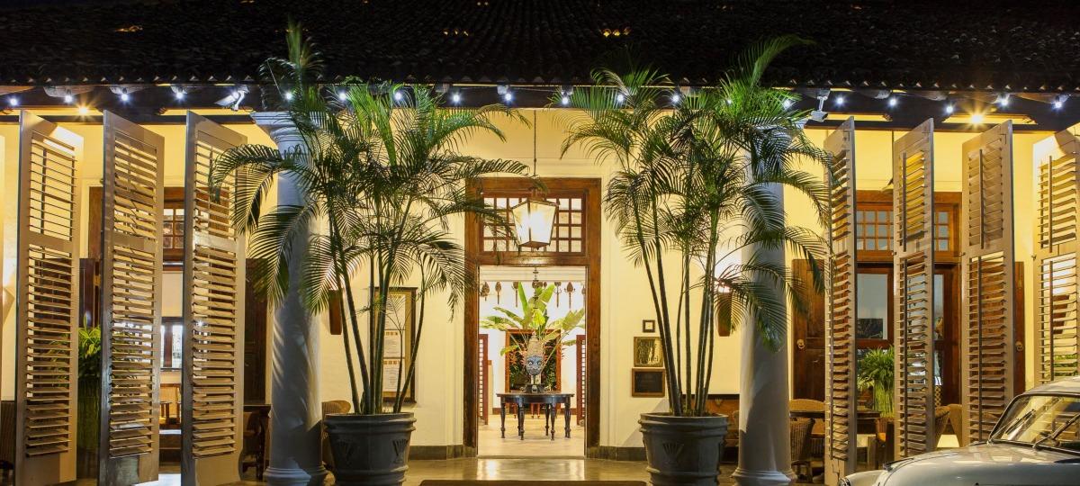Herzlich willkommen im Galle Fort Hotel