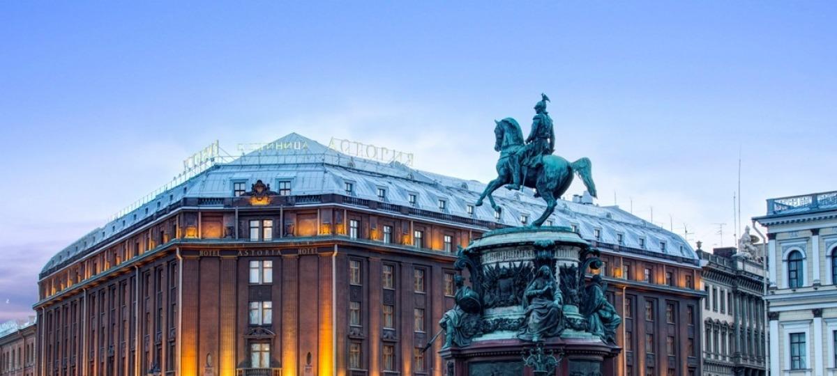 Willkommen in St. Petersburg