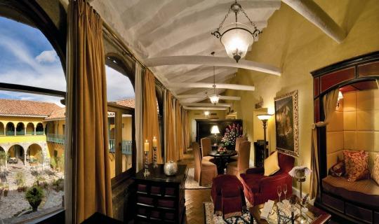 Residieren Sie im luxuriösem Monasterio Hotel