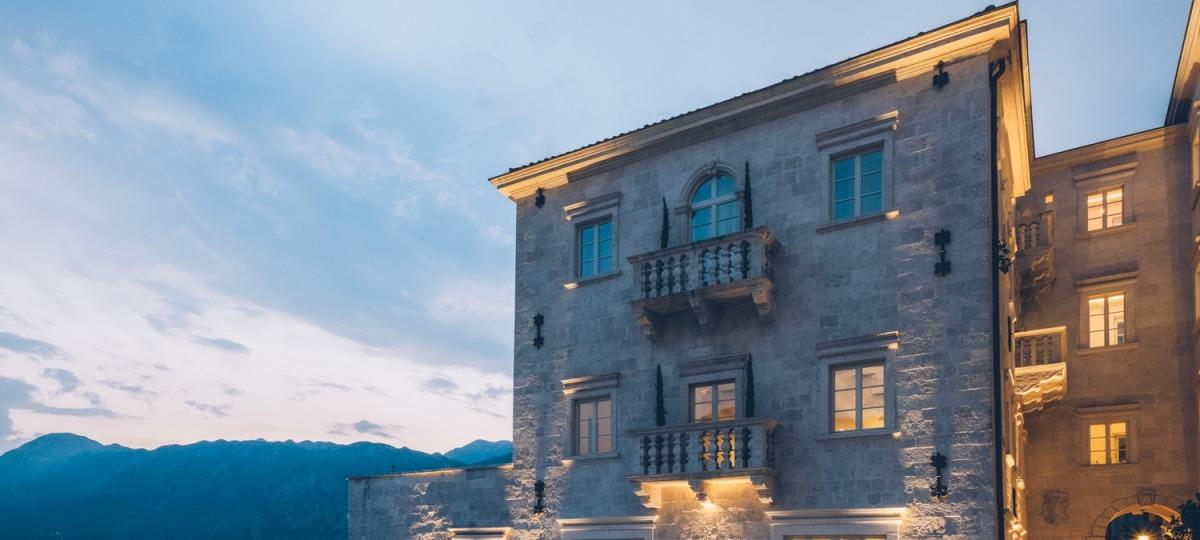 Das Iberostar Grand Perast - ein renovierter, traditionsreicher Palast
