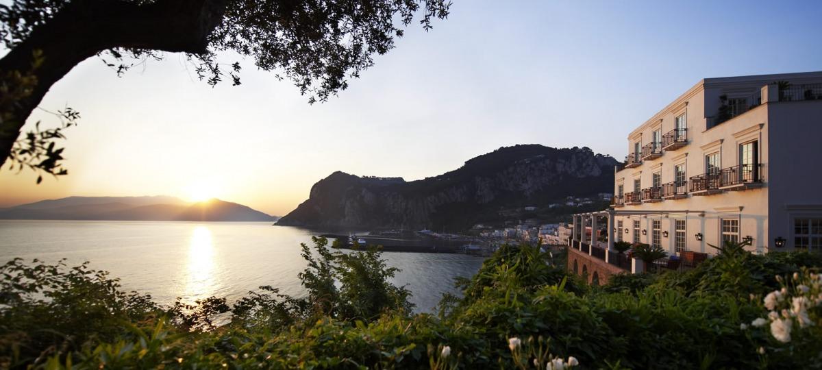 Sonnenuntergang auf Capri