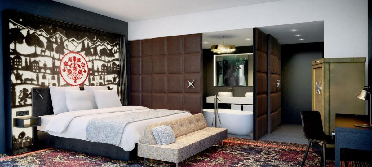 Stilvolles Ambiente im Deluxe-Room