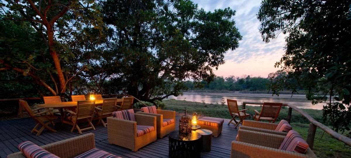 Traumhafter Blick auf den Kapamba River