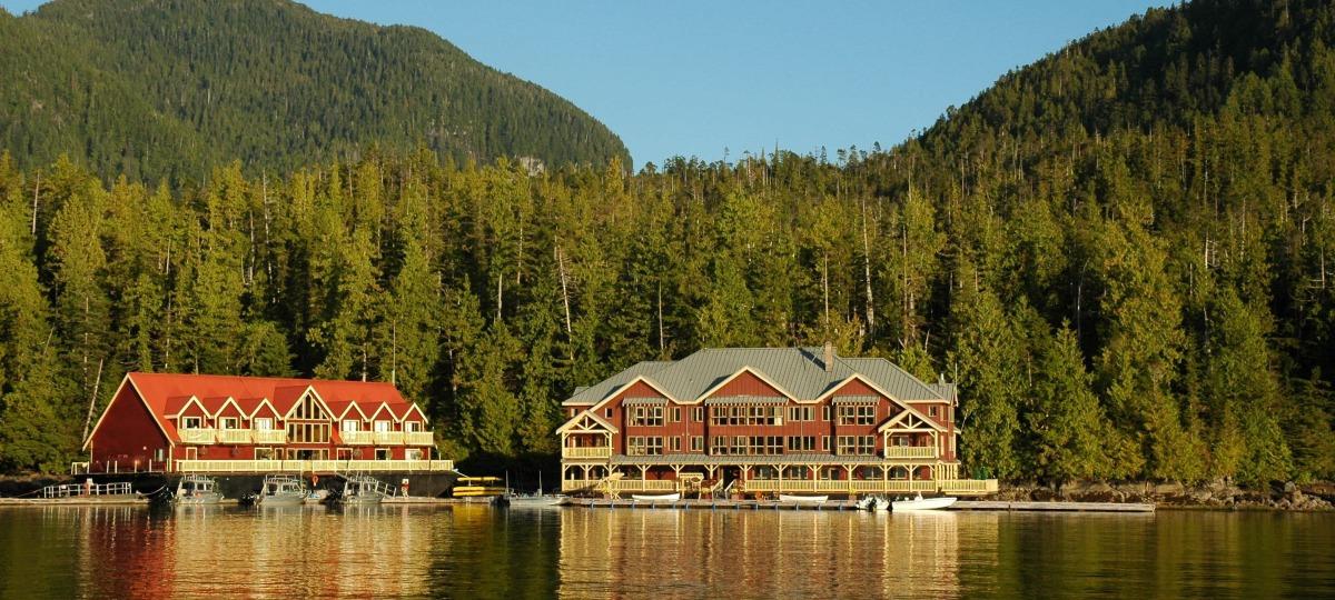 Herzlich Willkommen in der King Pacific Lodge