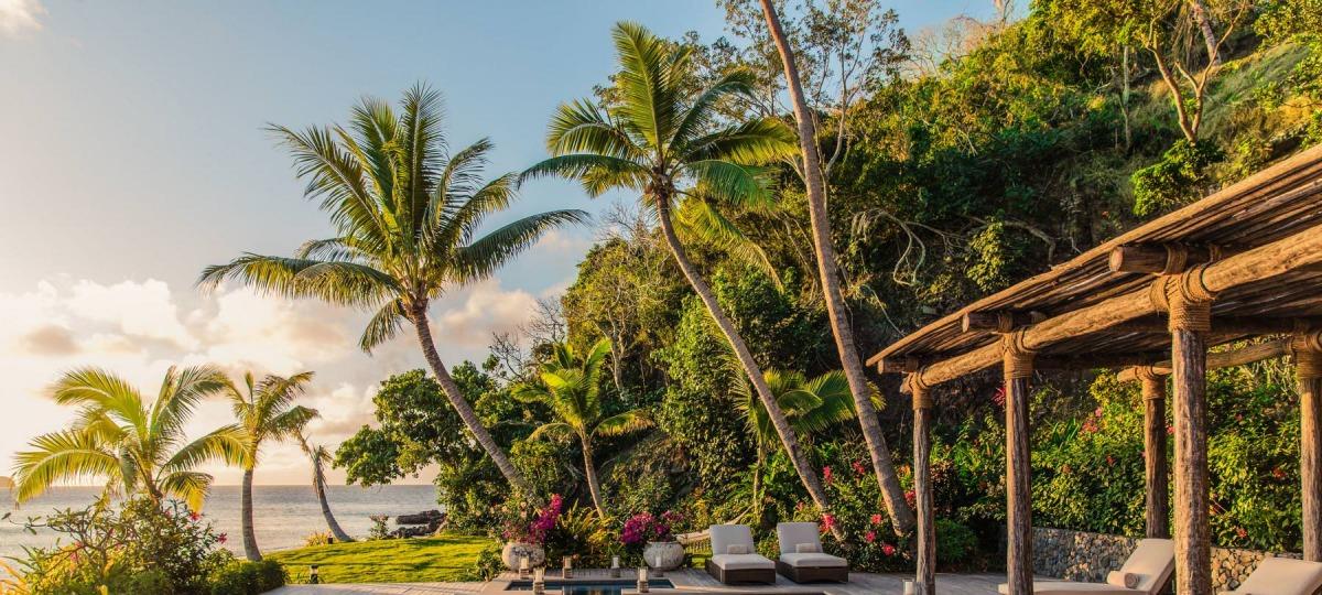 Eine der paradiesischen Luxury Beachfront Residences