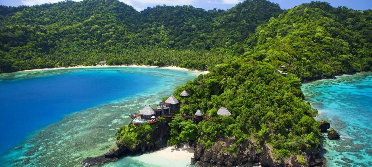 Herzlich Willkommen auf Laucala Island