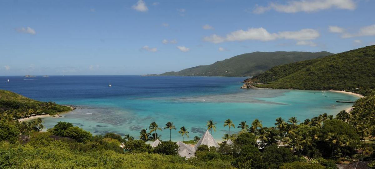Schöne Lage in der Karibik