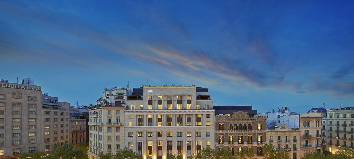 Herzlich Willkommen im Mandarin Oriental, Barcelona