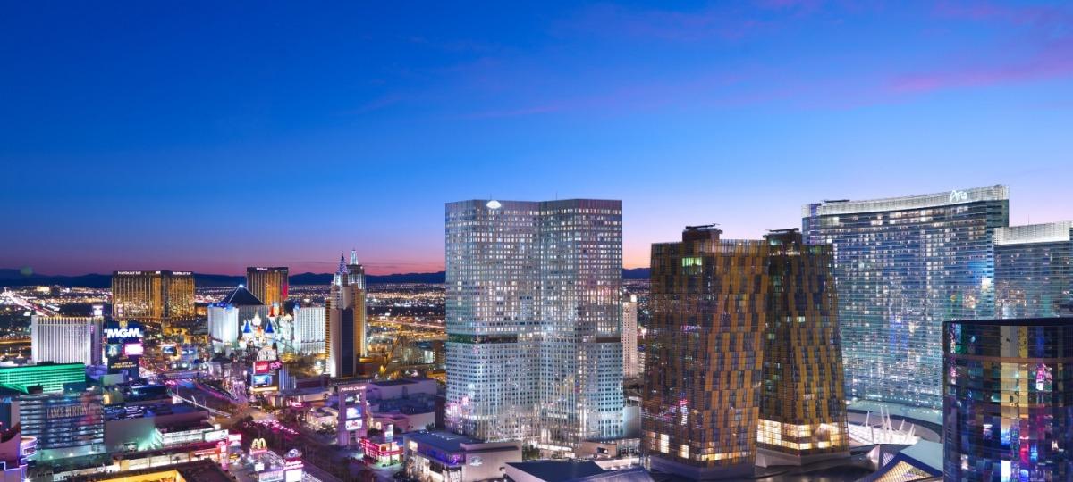 Unglaubliche Skyline von Las Vegas