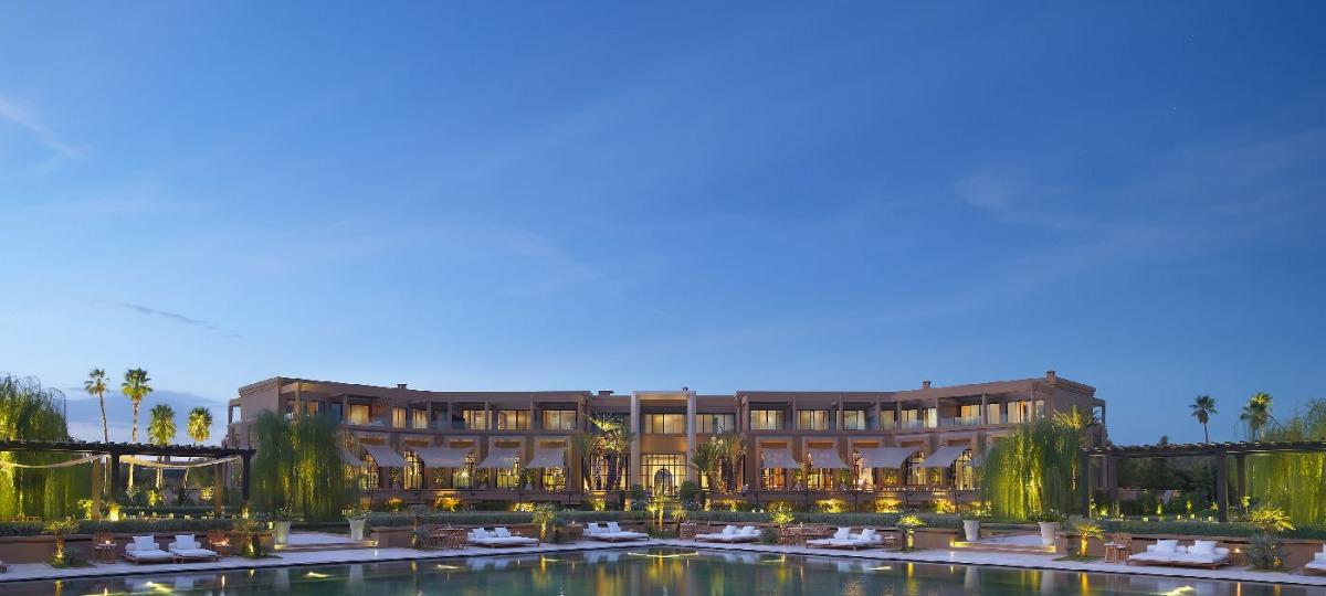 Herzlich Willkommen im Mandarin Oriental, Marrakech