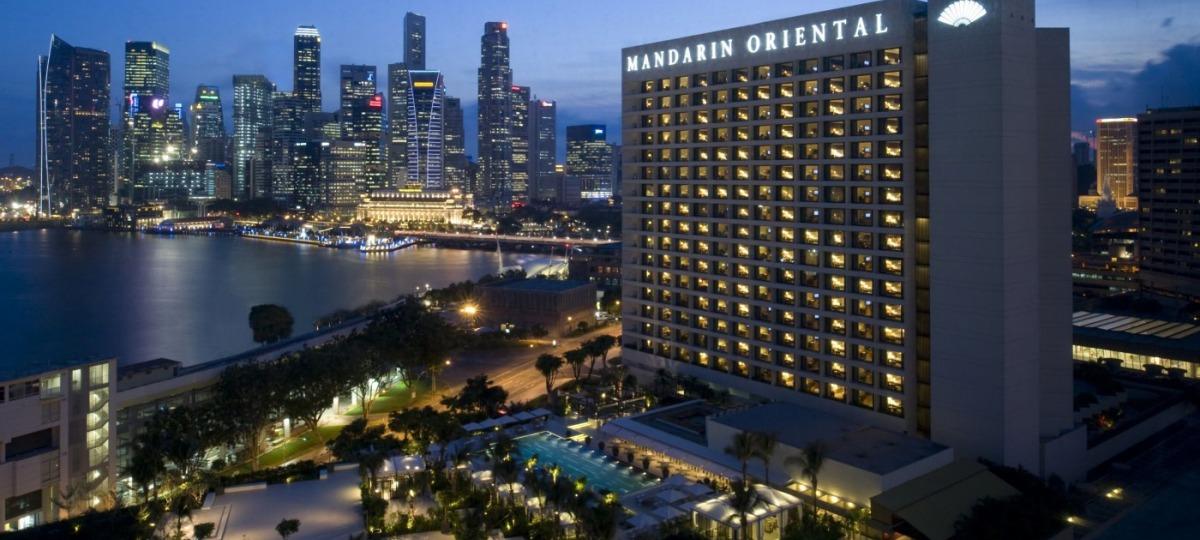 Willkommen im Mandarin Oriental  Singapur