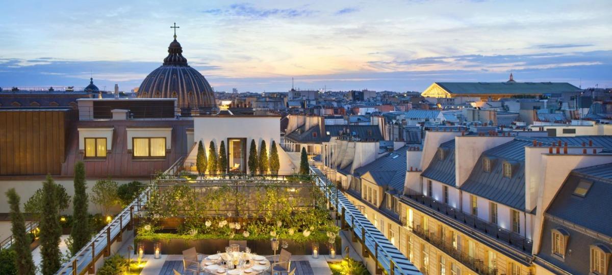 Herzlich Willkommen im Mandarin Oriental, Paris