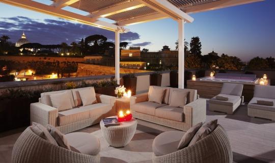 Herzlich Willkommen im Gran Melià Rome Villa Agrippina