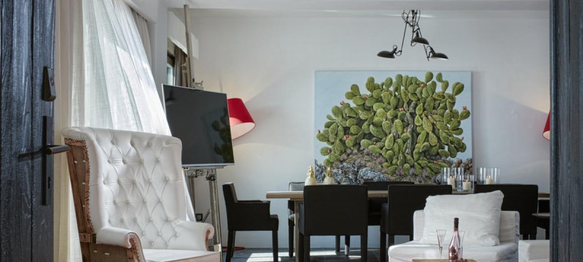 Einzigartiges Design der Zimmer