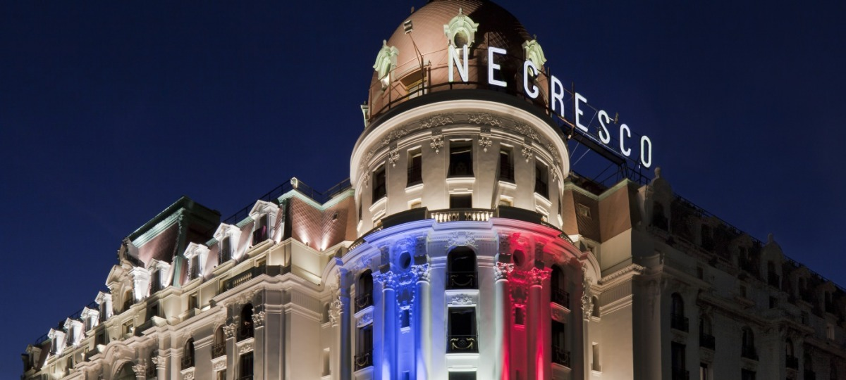 Herzlich Willkommen im Hotel Le Negresco