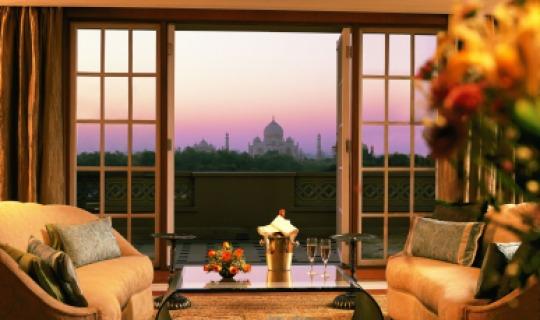 Geniessen Sie Ihre Suite mit Taj Mahal Blick