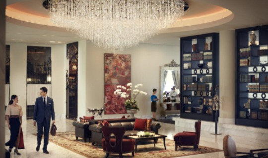 Wunderschöne Lobby